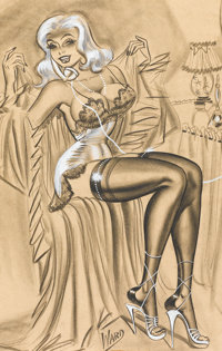 "BILL WARD (American, 1919-1998) ""So I Told Him- I Don't Hide My Assets, So Why Should You? And Now We Have a Cl"