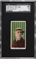 Boxing Cards:General, 1910 T224/T229 Pet Cigarettes John Sullivan SGC 40 VG 3. ...
