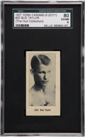 Boxing Cards:General, 1927 E211 York Caramel Prizefighters Bud Taylor #20 SGC 80 EX/NM 6- Finest E211 Example Known!...