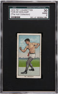 Boxing Cards:General, 1910 T229 Pet Cigarettes Ad. Wolgast SGC 30 Good 2 - Only Example Graded!...