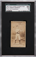Boxing Cards:General, 1887 N174 Old Judge Prizefighters Tommy Warren SGC 60 EX 5....