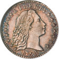 Early Half Dimes, 1795 H10C MS62 NGC....