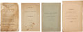 Military & Patriotic:Revolutionary War, A Group of Four Scarce Pamphlets Associated with the Early Battlesof the American Revolution.... (Total: 4 Items)