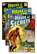 Silver Age (1956-1969):Mystery, House of Secrets Group (DC, 1958-71) Condition: Average VG-....(Total: 12 Comic Books)