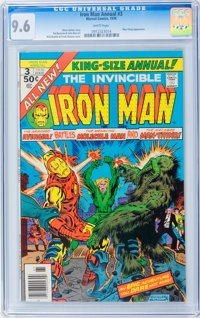 Iron Man Annual #3 (Marvel, 1976) CGC NM+ 9.6 White pages