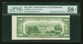 Error Notes:Skewed Reverse Printing, Fr. 2059-E $20 1950 Federal Reserve Note. PMG Choice About Unc 58EPQ.. ...