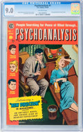Golden Age (1938-1955):Horror, Psychoanalysis #1 (EC, 1955) CGC VF/NM 9.0 Off-white pages....