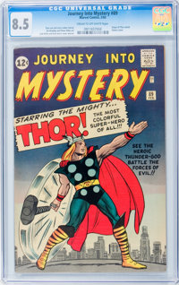 Journey Into Mystery #89 (Marvel, 1963) CGC VF+ 8.5 Cream to off-white pages