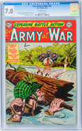Golden Age (1938-1955):War, Our Army at War #23 (DC, 1954) CGC FN/VF 7.0 Off-white pages....