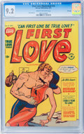 Golden Age (1938-1955):Romance, First Love Illustrated #14 File Copy (Harvey, 1951) CGC NM- 9.2Cream to off-white pages....