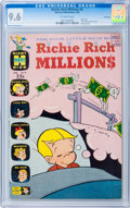 Silver Age (1956-1969):Humor, Richie Rich Millions #4 File Copy (Harvey, 1963) CGC NM+ 9.6 Off-white pages....