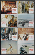 "Movie Posters:Academy Award Winner, Lawrence of Arabia (Columbia, R-1971). Lobby Card Set of 8 (11"" X 14""). Academy Award Winner. Starring Peter O'Toole, Alec G... (Total: 8)"