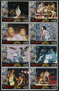 "Let's Spend the Night Together (Embassy Pictures, 1983). Lobby Card Set of 8 (11"" X 14""). Rock and Roll. Starr..."