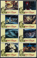"Movie Posters:Animated, The Lord of the Rings (United Artists, 1978). Lobby Card Set of 8(11"" X 14""). Animated. Starring John Hurt, Christopher Gua...(Total: 8)"