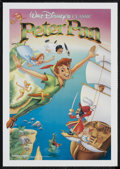 "Movie Posters:Animated, Peter Pan (Buena Vista, R-1989). Mini Poster (17.5"" X 26"").Animated. Starring Bobby Driscoll, Kathryn Beaumont, Hans Conrie..."