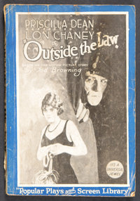 "Outside the Law (Universal, 1920). Photoplay Edition Book (135 Pages, 5.25"" X 7.75""). Crime. Starring Priscill..."