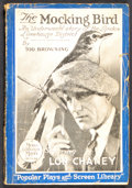 """Movie Posters:Crime, The Blackbird (MGM, 1926). Photoplay Edition Book (138 Pages, 5.25"""" X 7.75""""). Crime. Starring Lon Chaney, Owen Moore, Renée ..."""