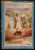 "Movie Posters:Adventure, Hero of the Big Snows (Warner Brothers, 1926). Photoplay EditionBook (135 Pages, 5.25"" X 7.25"") Softcover. Adventure. Starr..."