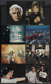"Superman the Movie (Warner Brothers, 1978). Deluxe Lobby Card Set of 8 (11"" X 14""). Action. Starring Christoph..."