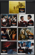 "Movie Posters:Science Fiction, Star Trek II: The Wrath of Khan (Paramount, 1982). Lobby Cards (7)(11"" X 14""). Science Fiction. Starring William Shatner, L...(Total: 7)"