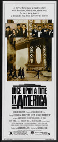 "Movie Posters:Crime, Once Upon a Time in America (Warner Brothers, 1984). Insert (14"" X36""). Crime. Starring Robert De Niro, James Woods, Willia..."