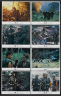 "Movie Posters:War, Platoon (Orion, 1986). Lobby Card Set of 8 (11"" X 14""). War.Starring Tom Berenger, Willem Dafoe, Charlie Sheen, Forest Whit...(Total: 8)"