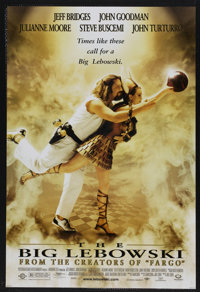 "The Big Lebowski (Gramercy, 1998). One Sheet (27"" X 41"") SS. Comedy. Starring Jeff Bridges, John Goodman, Juli..."