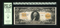 Large Size:Gold Certificates, Fr. 1187 $20 1922 Mule Gold Certificate PCGS Very Fine 25....