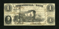 Obsoletes By State:Indiana, Terre Haute, IN- Commercial Bank $1 Aug. 3, 1858. ...