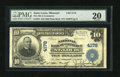National Bank Notes: , Saint Louis, MO - $10 1902 Plain Back Fr. 627 The NB of CommerceCh. # 4178...