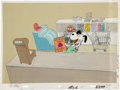 Animation Art:Production Cel, There Is No Time For Love, Charlie Brown Snoopy AnimationProduction Cel and Background Original Art (Bill Melendez Pr...