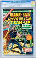 Bronze Age (1970-1979):Superhero, Giant-Size Super-Villain Team-Up #1 Dr. Doom and Sub-Mariner (Marvel, 1975) CGC NM+ 9.6 Off-white to white pages....