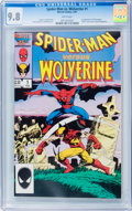 Modern Age (1980-Present):Superhero, Spider-Man vs. Wolverine #1 (Marvel, 1987) CGC NM/MT 9.8 Whitepages....