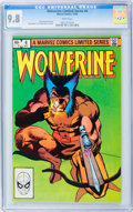 Modern Age (1980-Present):Superhero, Wolverine (Limited Series) #4 (Marvel, 1982) CGC NM/MT 9.8 Whitepages....