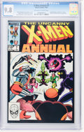 Modern Age (1980-Present):Superhero, X-Men Annual #7, 8, and 12 CGC-Graded Group (Marvel, 1983-88) CGCNM/MT 9.8 Off-white to white pages.... (Total: 3 Comic Books)