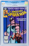 Modern Age (1980-Present):Superhero, The Amazing Spider-Man #219 (Marvel, 1981) CGC MT 9.9 Off-white towhite pages....