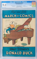 Golden Age (1938-1955):Funny Animal, March of Comics #41 Donald Duck - File Copy (K. K. Publications,Inc., 1949) CGC NM- 9.2 Off-white to white pages....