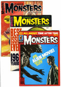 Magazines:Horror, Famous Monsters of Filmland Silver Age Magazine Box Group (Warren, 1966-83) Condition: Average FN....