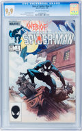 Modern Age (1980-Present):Superhero, Web of Spider-Man #1 (Marvel, 1985) CGC MT 9.9 Off-white to whitepages....