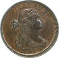 Large Cents, 1797 1C Reverse of 1797, Stems MS63 Brown PCGS....