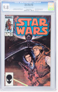 Modern Age (1980-Present):Science Fiction, Star Wars #95 (Marvel, 1985) CGC NM/MT 9.8 Off-white to whitepages....