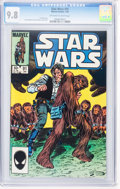 Modern Age (1980-Present):Science Fiction, Star Wars #91 (Marvel, 1985) CGC NM/MT 9.8 Off-white to whitepages....