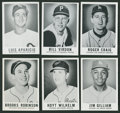 Baseball Cards:Lots, 1960 Leaf Baseball Collection of (55 different)....