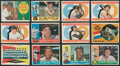 Baseball Cards:Lots, 1960 Topps Baseball Collection (168 Different) With HoFers!...