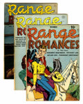 Golden Age (1938-1955):Romance, Range Romances #1-5 Group (Quality, 1949-50).... (Total: 5 ComicBooks)