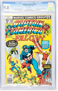 Captain America #218 (Marvel, 1978) CGC NM/MT 9.8 White pages