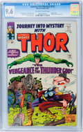 Silver Age (1956-1969):Superhero, Journey Into Mystery #115 (Marvel, 1965) CGC NM+ 9.6 Off-white towhite pages....