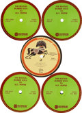 Music Memorabilia:Recordings, Beatles Rubber Soul to Sgt. Pepper (Westwood One, 1987).... (Total: 2 Items)