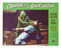 "Movie Posters:Horror, Creature from the Black Lagoon (Universal International, 1954).Lobby Cards (2) (11"" X 14"").. ... (Total: 2 Items)"