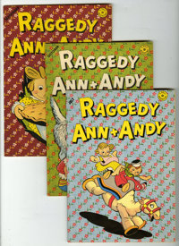 Raggedy Ann and Andy Group (Dell/Gold Key, 1946-73) Condition: Average VF/NM.... (Total: 17 Comic Books)